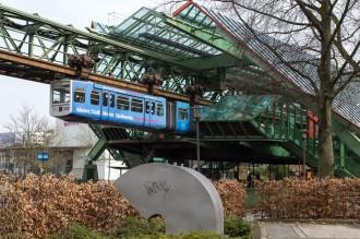 Schwebebahn: Bahnhof Kluse