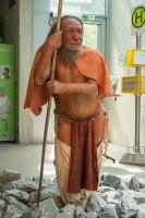 Rekonstruktion: moderner Neandertaler