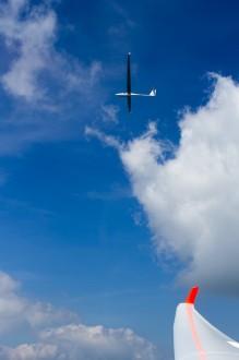 Segelflug: Vorflug im Verband