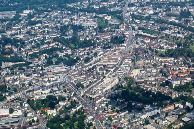 Luftaufnahme Solingen