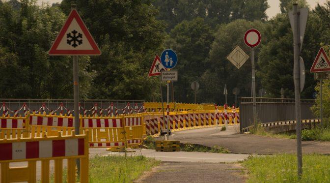 Wupperbrücke für Fußgänger wieder geöffnet