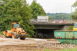 Bau Behelfsbrücke
